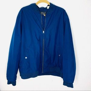Levi's Thermore Blue Quilted Coat Men Size XXLarge